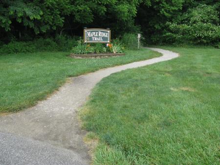 Maple Ridge Trail in Williams Park