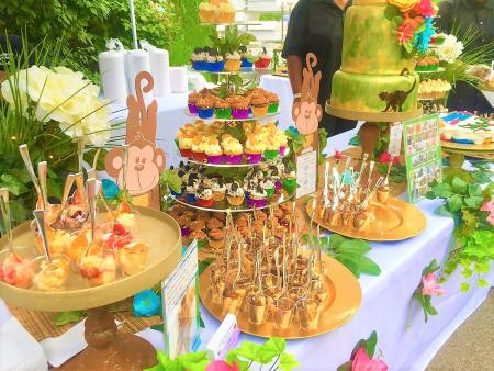 Marsha's Speciality Desserts & Tierney's Catering at Zoobilation