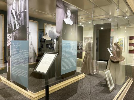 Ava Gardner Museum Exhibit in Smithfield, NC.