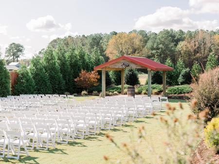 The Farm at 42 wedding venue in Clayton, NC.