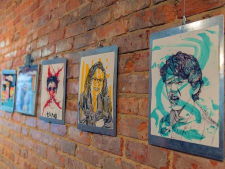 The Clayton Center Art Exhibit, Clayton NC.