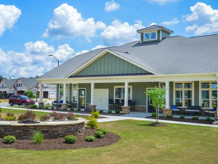 The Tapestry 55+ Community located in the Cleveland area near Garner, NC.