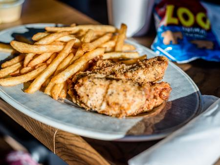 Vinson's Fish and Chips is a tasty meal in Clayton, NC.