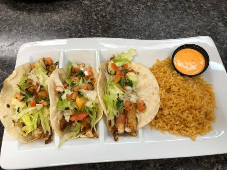 fish tacos at torres mexican steakhouse in florence ky