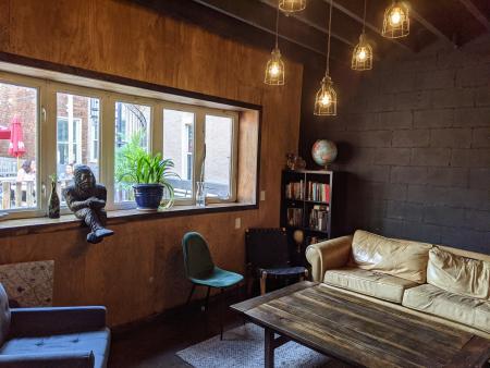 nomad lounge area interior