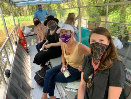 LTLA Class, Group Tour w/ Masks, Honey Island Swamp