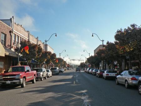 Main Street fall Credit City of Sumner