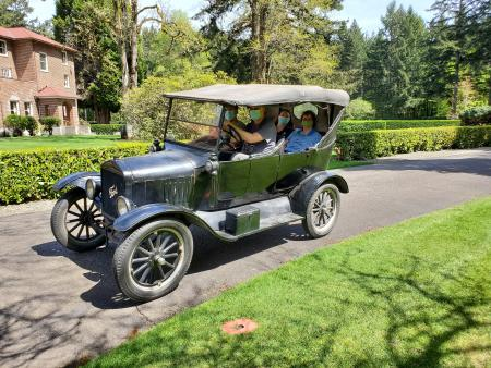 Model T Drivers Ed at LeMay Collections at Marymount