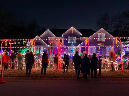 Log Run Lights in Clermont is definitely worth a visit. (Photo courtesy of Log Run Lights Facebook page)