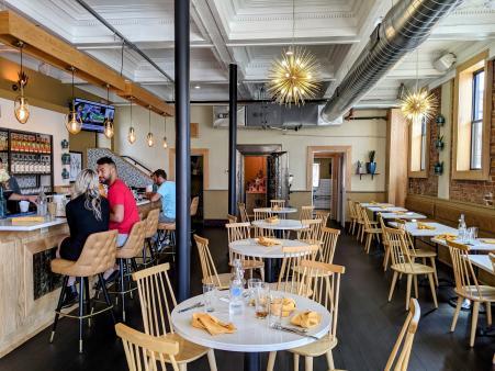 dining room at yuca by cedar in bellevue