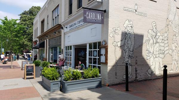 Carolina Coffee Shop Patio