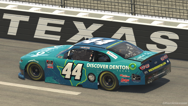 Discover Denton iRacing Racecar
