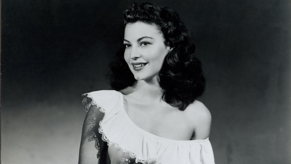 Young Ava Gardner in stars in The Whistle Stop.