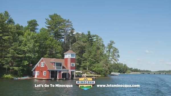 Lets minocqua wallpaper- boathouse