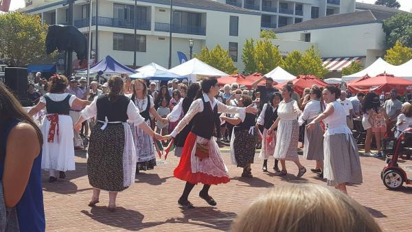 Tarantella Dancers performing at Festa Italia