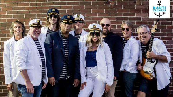 The Nauty Yachtys will be joined on stage by Groove Smash on Oct. 3.