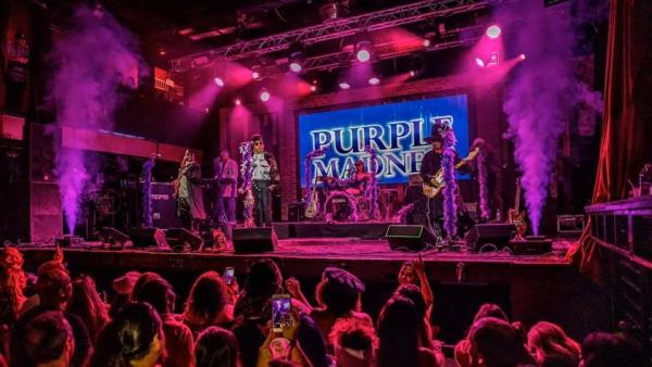 Purple Madness, a Prince tribute band, will be joined on stage by Soul Street on Sept. 19.