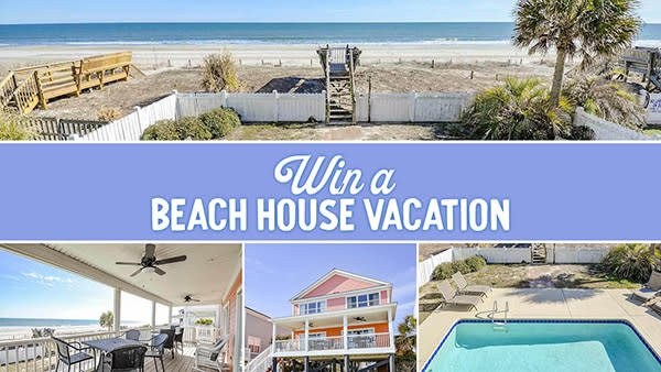 2021 Beach House Giveaway - Sunkist by Dunes Realty Vacation Rentals