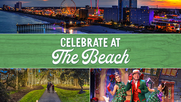 Celebrate the Holidays at The Beach, Visit Myrtle Beach, SC