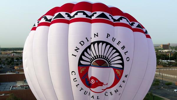 Indian Cultural Center Hot Air Balloon Detail