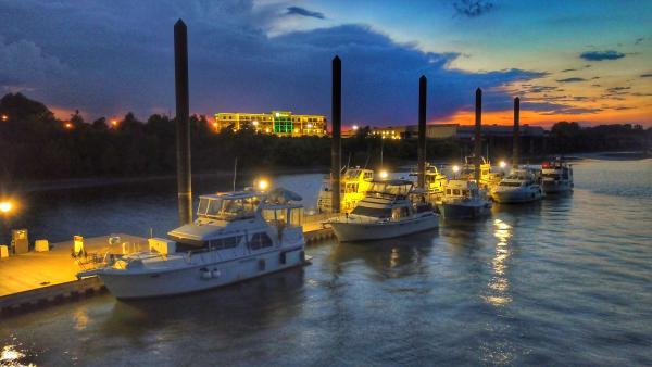 Paducah Transient Boat Dock