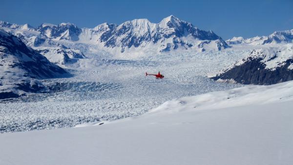 Winter Glacier Flightseeing Tour