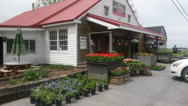 Front exterior of Morgan's Half Acre Produce