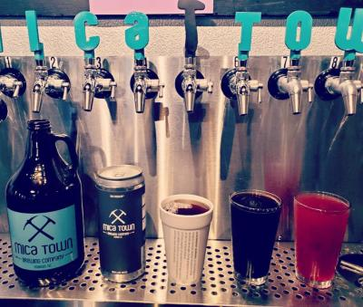 Mica Town Brewing- Taps