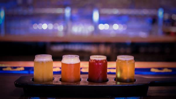 The Englewood Brewery Tasting Flight