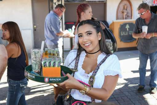 Oktoberfest at Old World Village in Huntington Beach