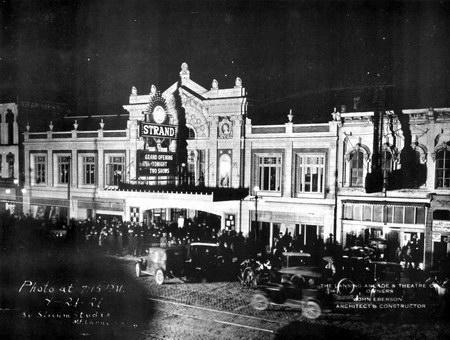 Historical Strand Theatre Lansing