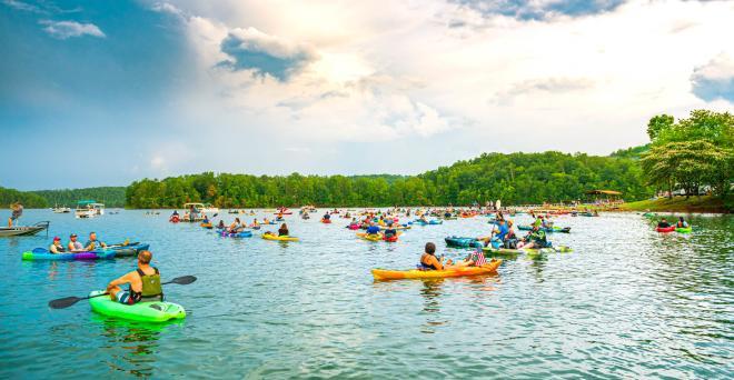 Concerts by Canoe - Philpott Lake - Franklin County, VA
