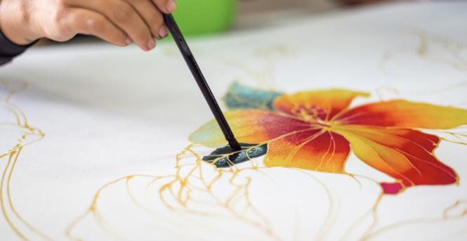 Batik workshop at Annapolis Arts Week