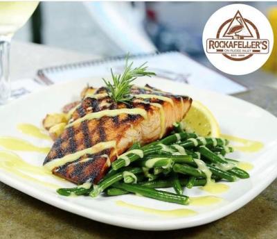 Rockafeller's Restaurant salmon dish