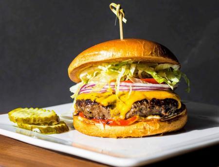 Cheeseburger from Bru Burger Bar in Brownsburg