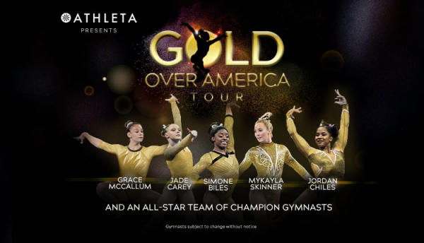 Image of the Gold Over America Tour Poster