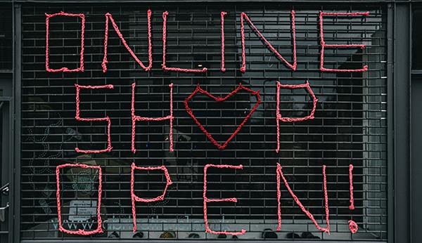 Online Shop is Open