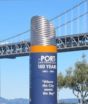 Port sign