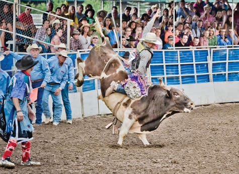 Steamboat Pro Rodeo Series Bull Riding