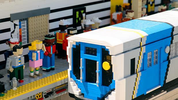 LEGO subway