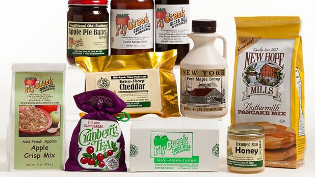 New York State Cookies Pancakes Syrup and more form the perfect holiday gift bundle