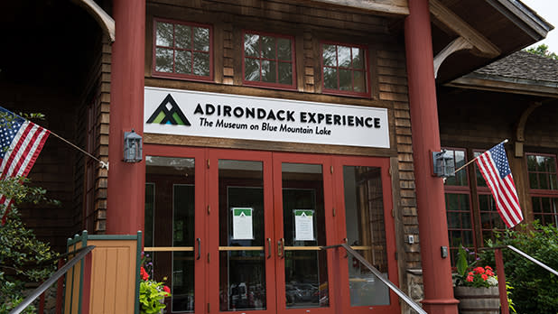 Entrance to the Adirondack Experience