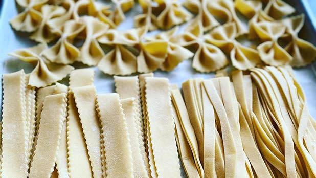 Fresh pasta from Comfort Kitchen