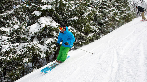Holiday Valley Skiing - Photo by NYS ESD