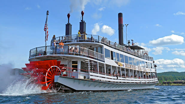 Lake George Steamboat Company - Photo by NYS ESD