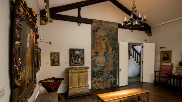 A photo of inside Hyde House at The Hyde Collection