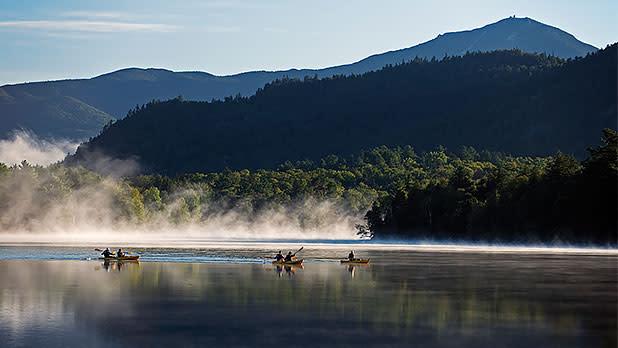Mirror Lake - Whiteface Mountain - Lake Placid