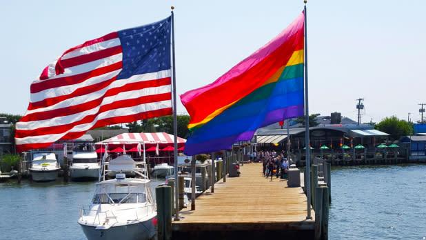 Cherry Grove, Fire Island pier