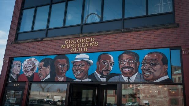 Colored Musicians Club exterior