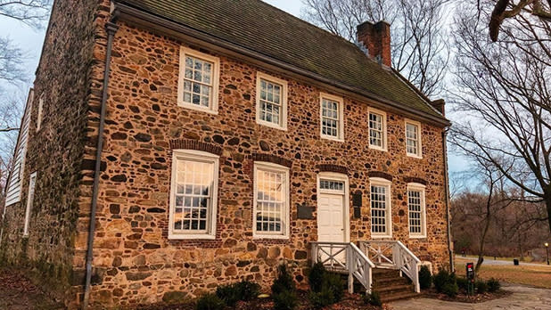 The historical stone Conference House